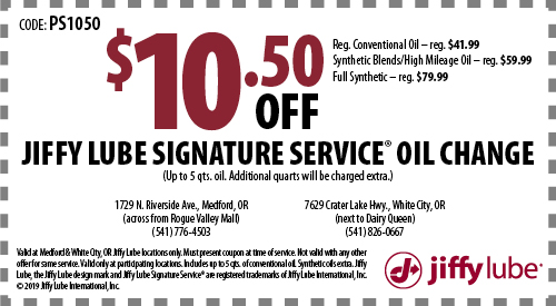 Jiffy Lube Synthetic Oil Change Coupon Virginia Tyson Fully Cooked