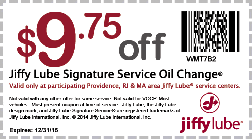 Jiffy lube coupons 10 off