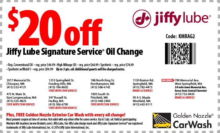 At Jiffy Lube you never need an appointment or have to drop off your car for a quick oil change, just stop by when it's convenient for you. We pride ourselves in offering state of the art automotive services that meet or exceed customer expectations.